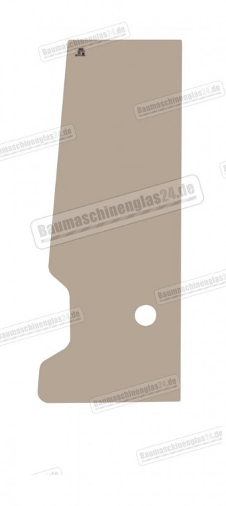 Takeuchi TB020/025/030/035/045 S/N:1255001-1255452 - Türscheibe