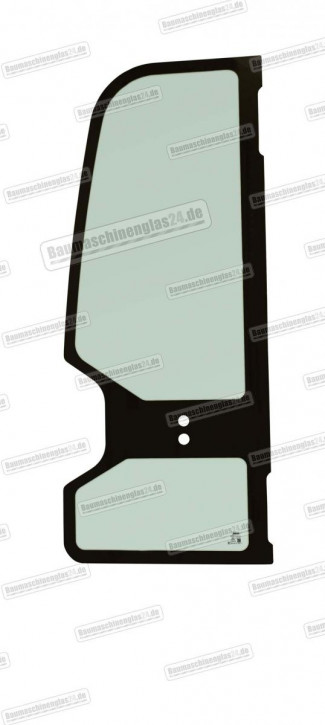 Takeuchi TB153FR/TB180FR MINI EXCAVATOR - Türscheibe - Komplett (C)