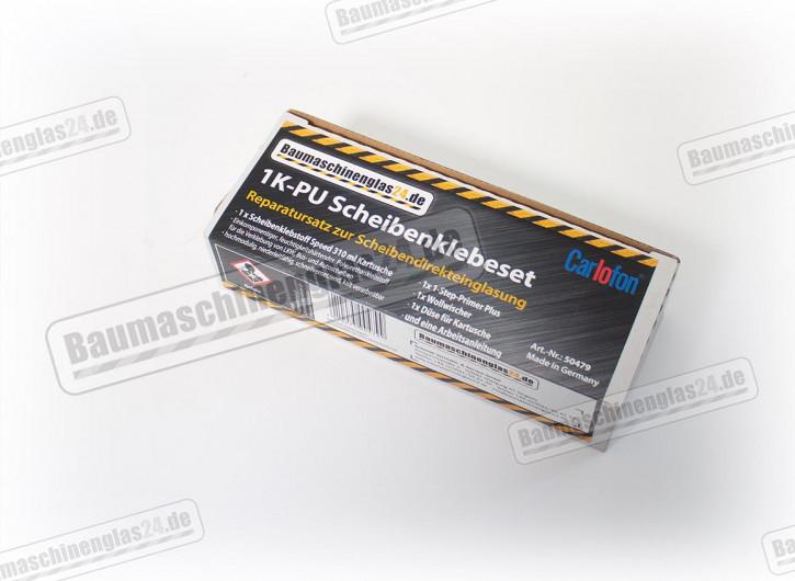 Zubehör - Scheibenklebe Set - Baumaschinenglas24 1K-PU Scheibenklebeset